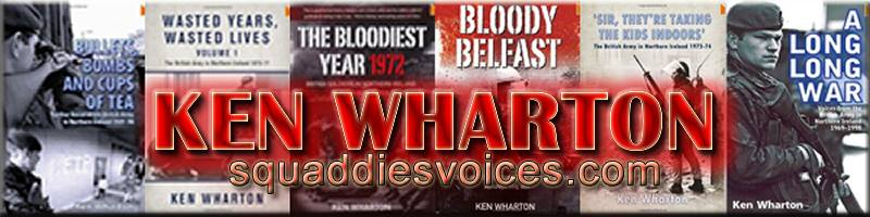 Squaddies Voices - Books by Ken Wharton